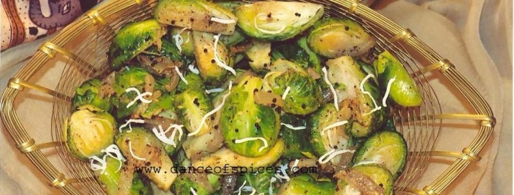 Laxmi's Delights Brussel Sprouts