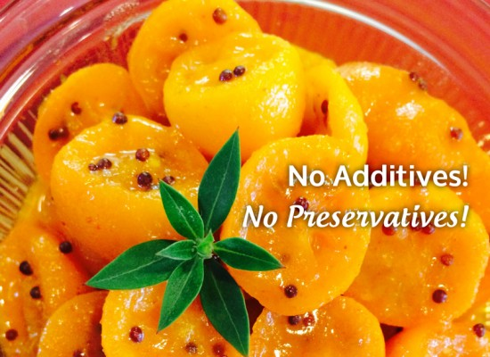 Laxmi's Delights Pickled Kumquat