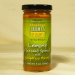 Lemony Flaxseed Spread with Ginger and Honey