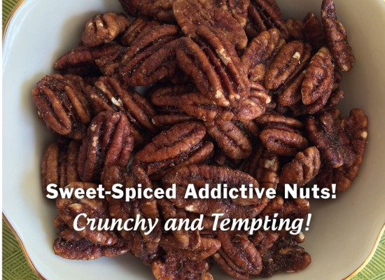 Laxmi's Delights Spiced Pecans slide