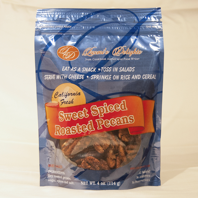 Sweet Spiced Roasted Pecans