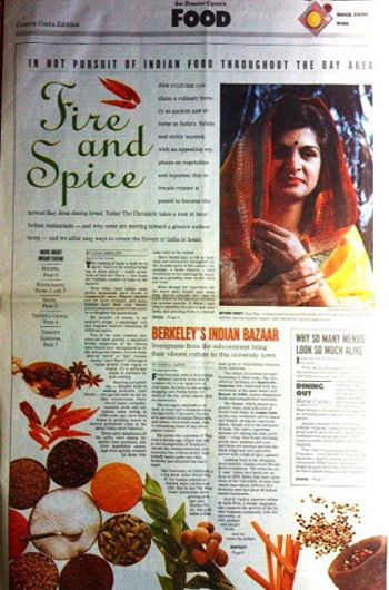 SF Chronicle Spice Trail