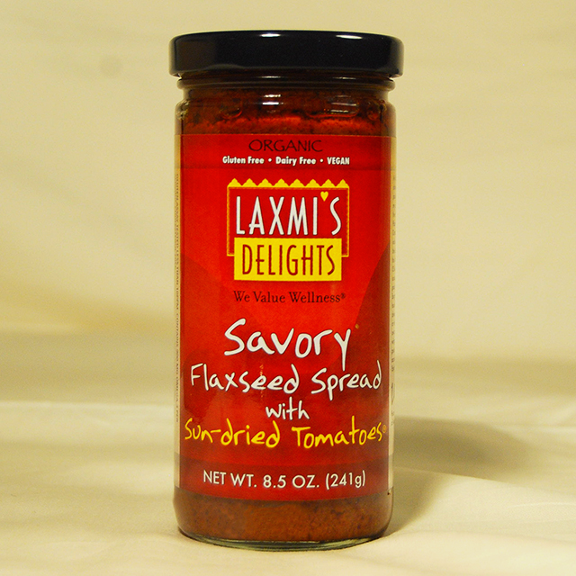 Savory Flaxseed Spread with Sun-dried Tomatoes