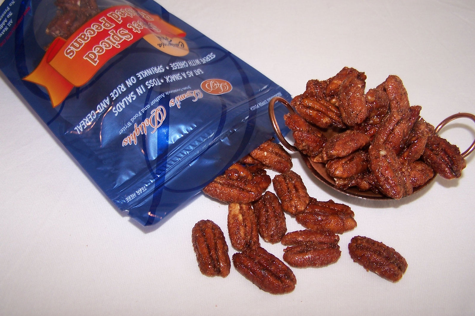Pecan package, alternate view
