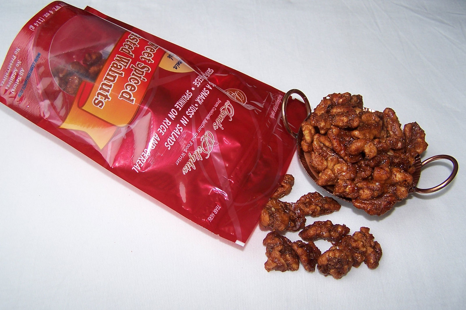 Sweet Spiced Roasted Walnuts