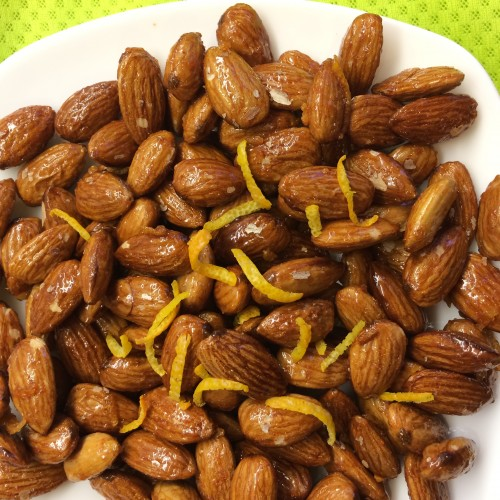 Laxmi's Delights Orange Glazed Almonds
