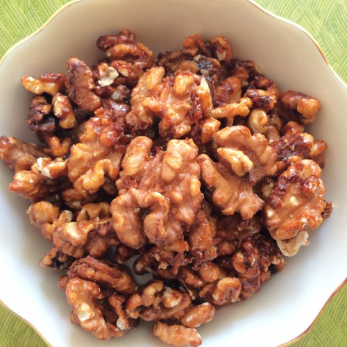 Laxmi's Delights Orange Glazed Walnuts